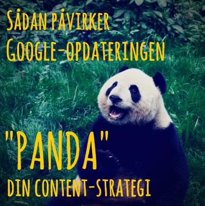 "Sådan påvirker Google-opdateringen ""Panda"" din content-strategi"