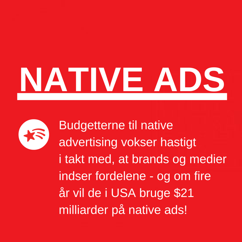 Native advertising stormer frem