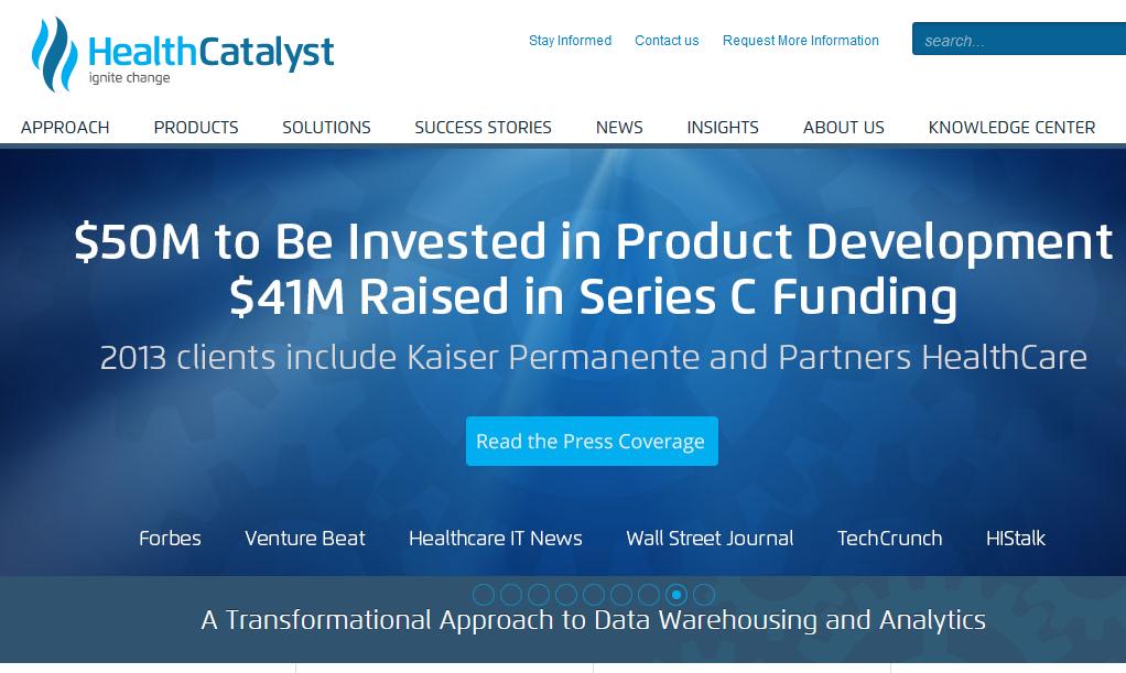 HealthCatalyst fik $50 i funding på grund af deres content marketing-indsats