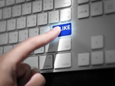 Hvad er rækkevidden på et Facebook-post, der får et like