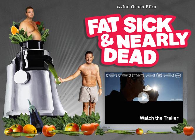 Joe Cross fat sick and nearly dead