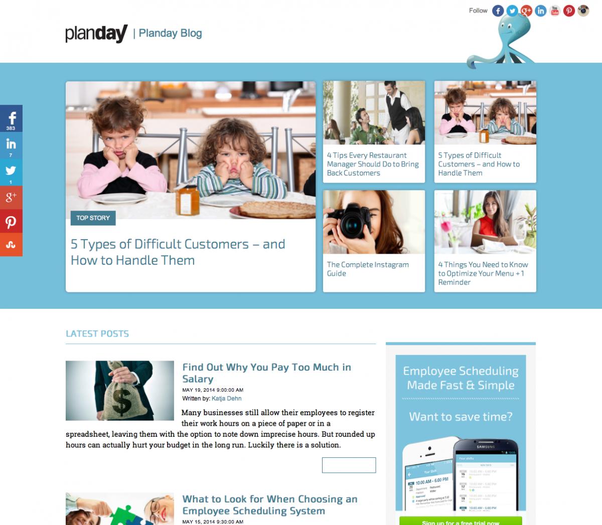 Plandays blog