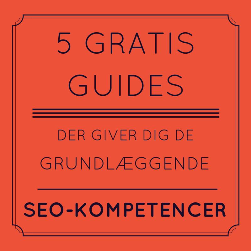 5 gratis SEO-guides