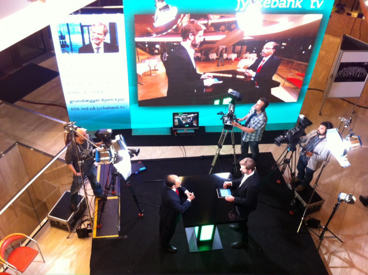 Jyske Bank laver TV