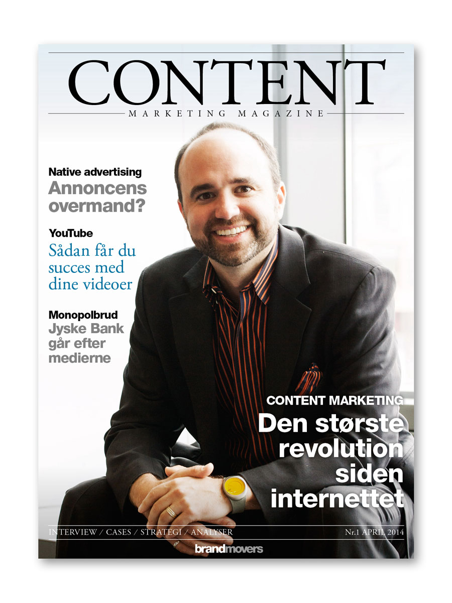 Nyt content marketing magasin