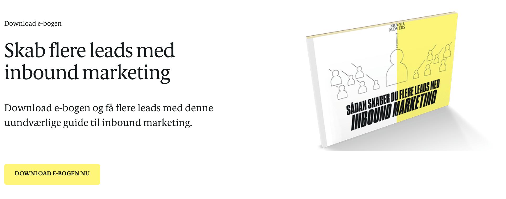 Leads med inbound marketing