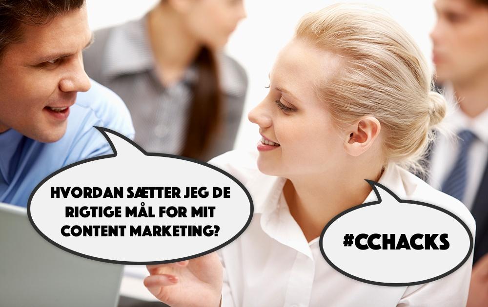 Sådan sætter du de rigtige mål for din content marketing