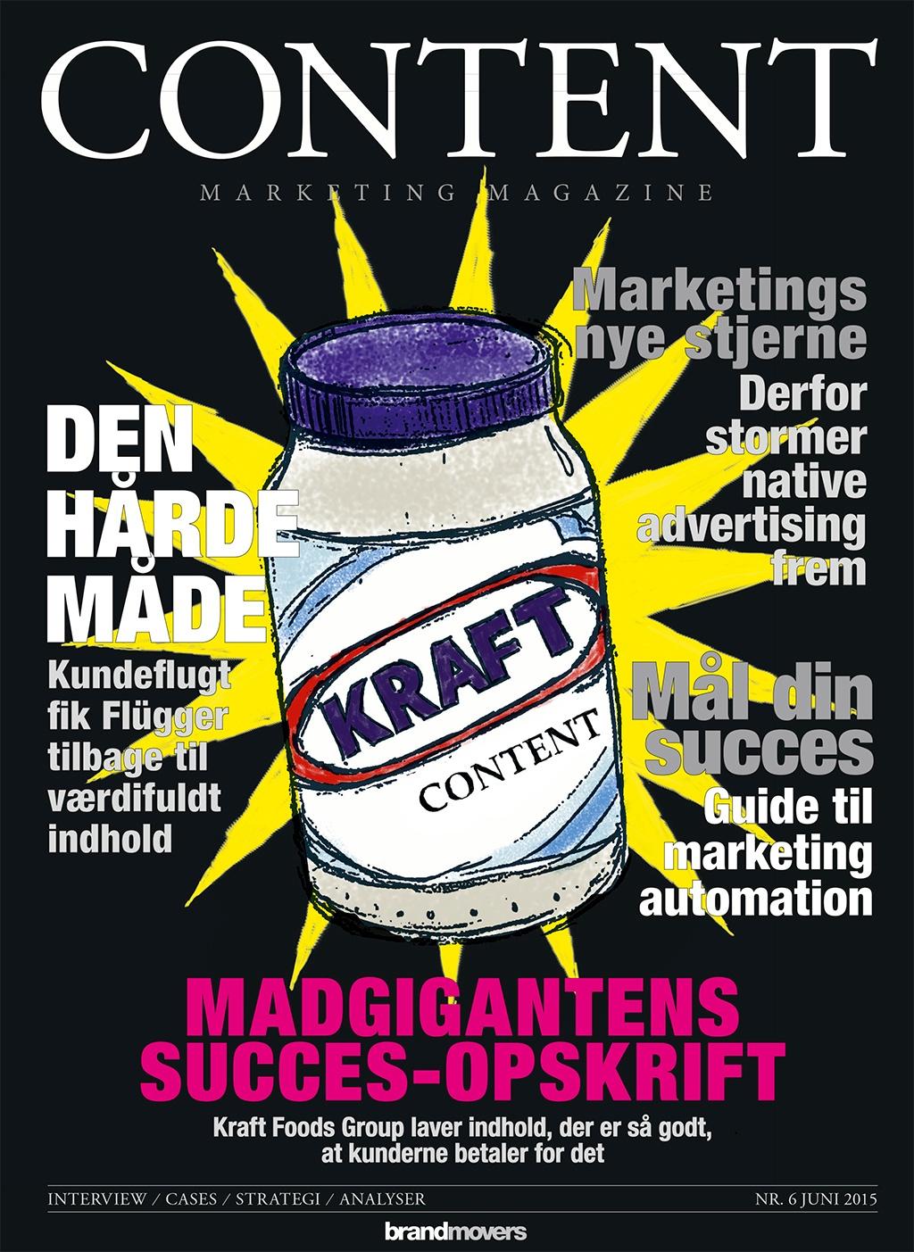 Content Marketing Magazine #6 er på gaden