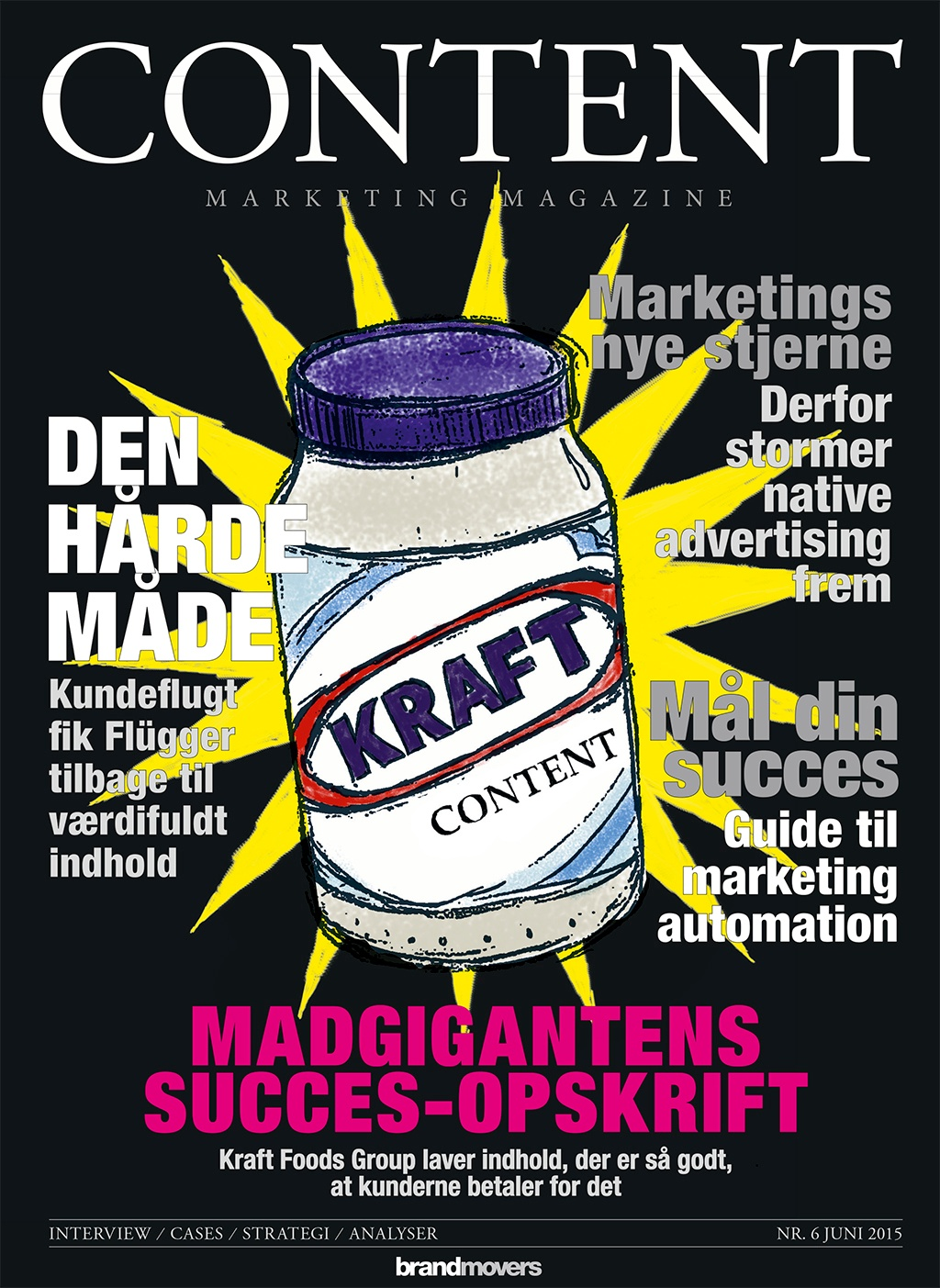 Content Marketing Magazine #6 er på gaden