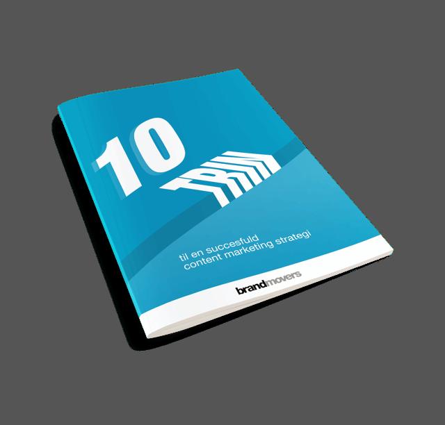 E-bog: 10 trin til en succesfuld content marketing strategi
