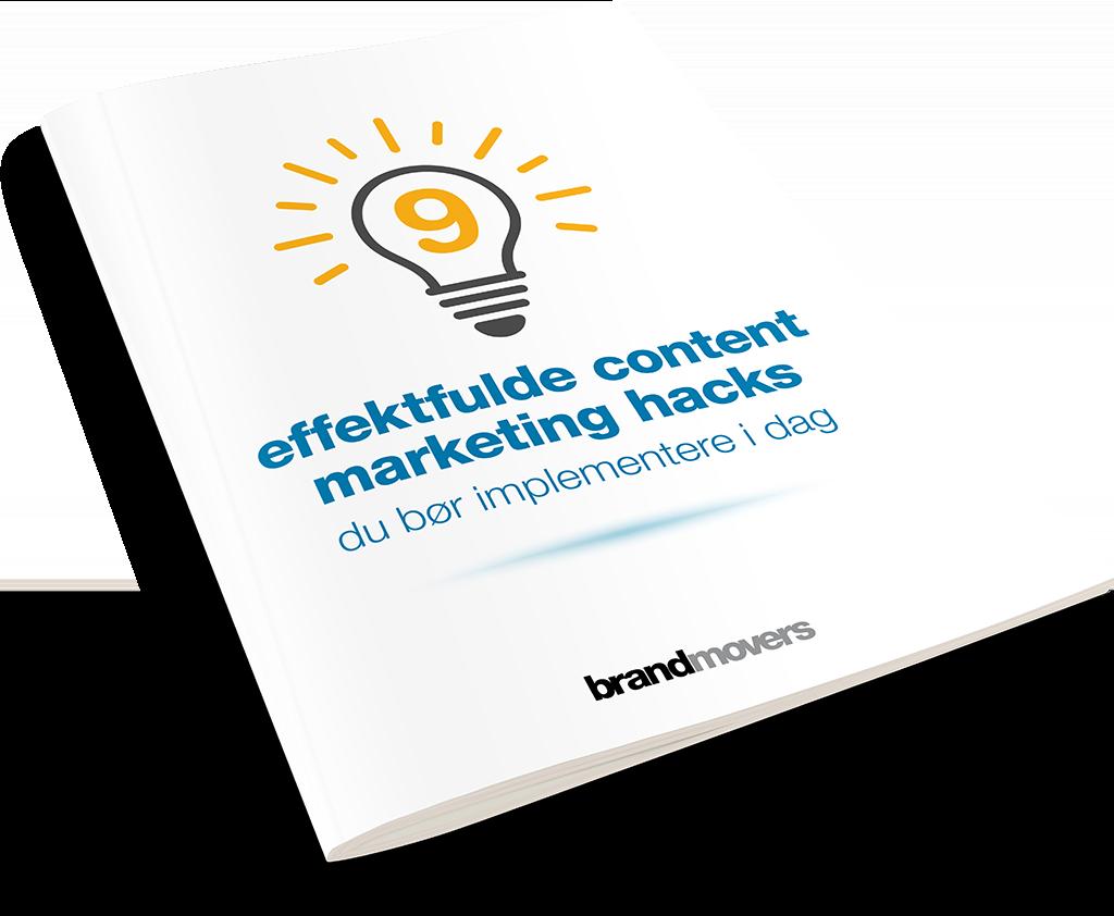 E-bog: 9 effektfulde content marketing hacks