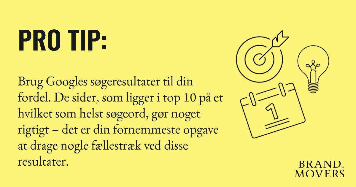 PRO TIP 1