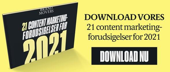 21 content marketing-forudsigelser for 2021