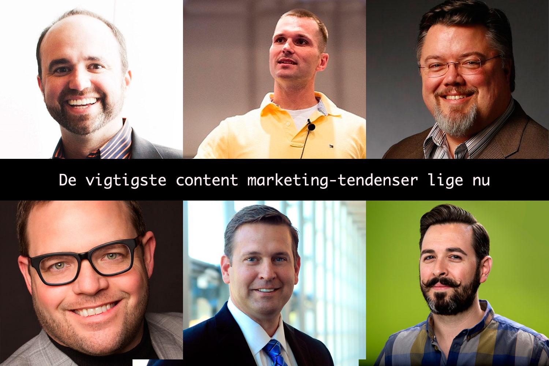 6 eksperter: Her er de vigtigste content marketing-tendenser lige nu
