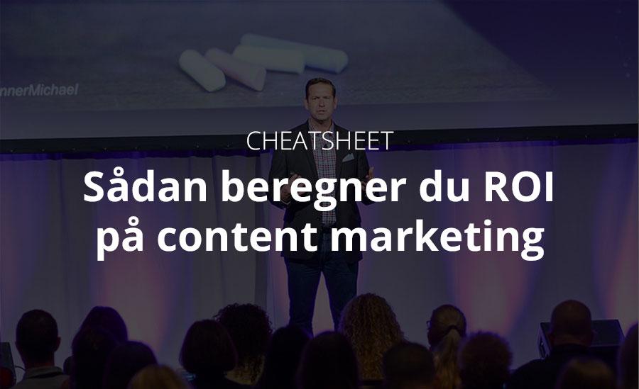 10 steder du kan lede efter ROI på dit content marketing
