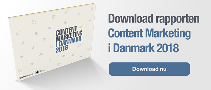 rapport content marketing i danmark 2018